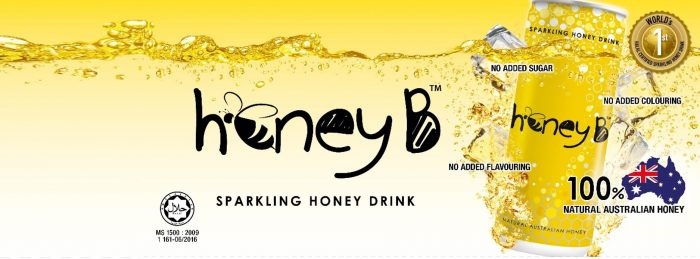 honeyb sparkling drink