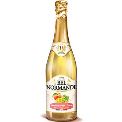 Bel Normande Sparkling Grape-Peach