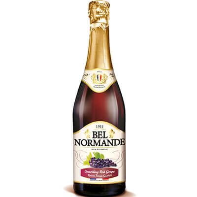 Bel Normande Sparkling Red Grape